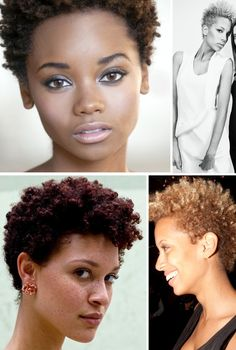 short natural hair