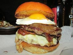 The Masterpiece at Black Iron Burger in Midtown