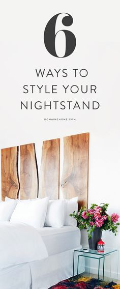The Prettiest Inspiration For Your Nightstand Styling