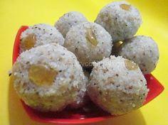 Instant Coconut Laddoo Recipe