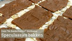Speculaasjes maken met Cees Holtkamp Christmas Baking, Coffee Time, Sweets, Cookies, Make It Yourself, Desserts, Recipes, Santa, Food