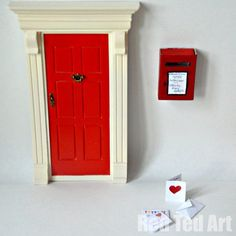 Fairy (matchbox) Postbox & Free Printable Envelopes