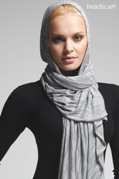 The Bina - A fashion do-it-all. Not only a headscarf, also a wrap, poncho and many more styles.  htpp://www.binabrianca.com/store