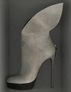 fb0ef468d48 AZZEDINE ALAIA Suede platform boots Dream Shoes
