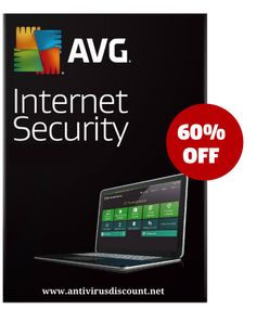 Discount avg internet Security  60 percent off