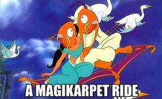 I can show you the world..... on a magikarpet ride!
