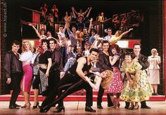 grease the musical | Musical Grease in Zürich, Maag MusicHall und Basel im Musical Theater