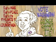 The oddities of the first American election.  Great video describing what the first election was like.