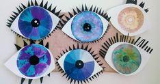 5 Senses Craft, Five Senses Preschool, My Five Senses, Body Preschool, Senses Activities, Preschool Themes, Activities For Kids, Halloween Art Projects, Kindergarten Art Projects