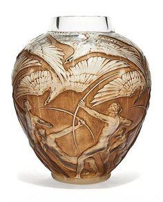 Buy online, view images and see past prices for René LALIQUE (1860 - 1945) Vase modèle « Archers » - Modèle créé en 1921. Invaluable is the world's largest marketplace for art, antiques, and collectibles.
