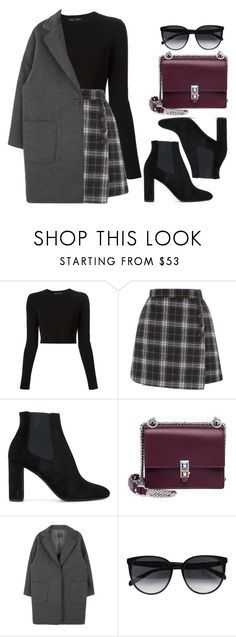 """Sin título #14326"" by vany-alvarado ❤ liked on Polyvore featuring Proenza Schouler, Yves Saint Laurent, Fendi and CÉLINE"