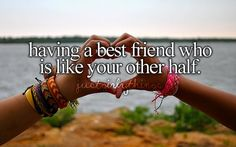 This is EXACTLY the type of friendship that we have!