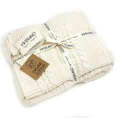** PROMOTION: HALF PRICE SHIPPING.  100% ORGANIC cotton knitted cable knit throw blanket in many colors - luxurious, pure, comfortable, warm, cozy, super soft, natural, eco-friendly, non GMO, vegan, pesticide and chemical free. Cuddle up and wrap yourself in these buttery soft and ideal