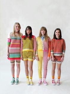 More from All Knitwear. I want to move to Iceland and wear colourful knits every day.