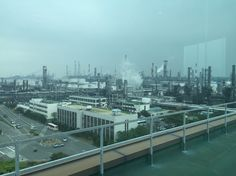 SK Ulsan peteochemical complex - one of the world's largest crude oil refinery