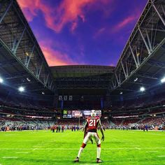 #ThursdayNightFootball#Arizona#Sunset#ArizonaSunset#Stadium#Sky#Skyporn#Football#Picoftheday#Beautiful#BeautifulSunset#Southwest#Igers#Peterson#21#Cardinals#AZCardinals#ArizonaCardinals