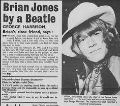 Brian Jones by George Harrison