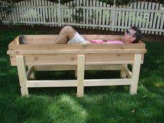 Build your own waist-high garden planter - full instructions here...