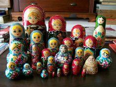 Piquete de mamushkas | Flickr - Photo Sharing!