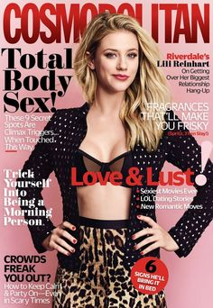 Lili Reinhart for Cosmopolitan Magazine