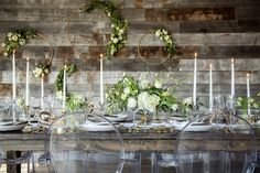 We designed this wedding to be a modern, boho rustic mix. Design by Naturally Chic. Photo by Kim Payant Photography.