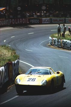 Yep, the most interesting cars in the world. Ferrari 250LM at Le Mans 1964