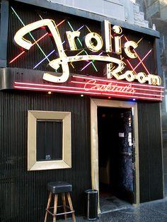 Frolic Room, Hollywood.