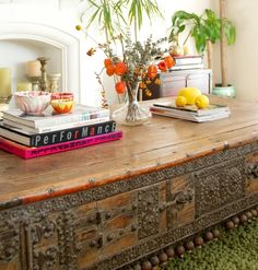 Bohemian Homes: Indian Table