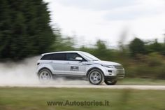 Land Rover Experience. Evoque ice Driving