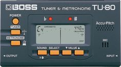 BOSS TU-80 merupakan tuner LCD yang memberikan keakuratan sempurna dalam melakukan tuning untuk musisi dengan harga yang sangat terjangkau. Sementara menambahkan fitur High-end yang unik seperti terdapat Metronome dan Accu-Pitch™. TU 80 dengan ukuran dompet menggunakan batere dan dapat men-tuning hamoir untuk semua instrumen , terdapat pula mode chromatic tuner dan jarak tuning yang sangat luas .
