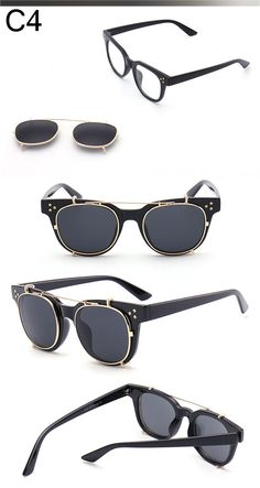 Aliexpress.com   Buy Steam Punk Removable Sunglasses Men Women Transparent  Frame Steampunk Goggles Summer Vintage Coating Mirror Sunglasses UV400 from  ... 5be71839ab9e