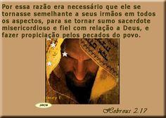 Salmos - Proverbios e passagens da Bíblia: sumo sacerdote misericordioso (Hebreus 2:14-18)