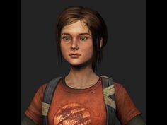 ▶ Texturing Overview, tutorial, Ellie from The last of us (3d model fan art) - YouTube