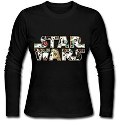 Star Wars Tshirts For Women 100% Organic Cotton ($26) ❤ liked on Polyvore featuring tops and t-shirts