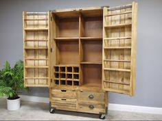 Excited to share the latest addition to my #etsy shop: Reclaimed Wood Large Home Storage Cabinet, Modern Industrial Storage cabinet #furniture #alskarfurnishings Wood Pantry Cabinet, Home Storage Cabinets, Kitchen Larder Cupboard, Industrial Storage Cabinets, Larder Unit, Rustic Kitchen Cabinets, Wine Cabinets, Cupboard Storage, Wood Storage