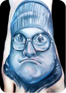 Cool Bubble portrait if your a fan of Trailer Park Boys lmao, here kitty kitty!