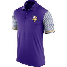 Nike Minnesota Vikings Purple Performance Polo Shirt #vikings #nfl #minnesota