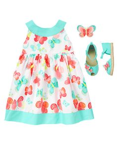 Gymboree Butterfly Catcher Painted Butterfly Dress Girls Easter NEW NWT Little Girl Outfits, Cute Outfits For Kids, Toddler Girl Outfits, Little Girl Fashion, Baby & Toddler Clothing, Kids Fashion, Infant Clothing, Clothing Sets, Girl Clothing