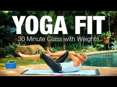 30 Minute Yoga Fit Class - Five Parks Yoga - YouTube