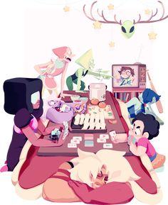 Arte de fã do desenho Steven universo espero que curta as imagens