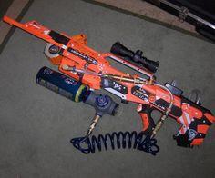 nerf guns longshot