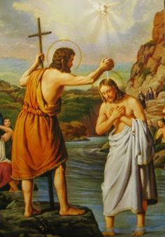 LUMINOUS MYSTERIES - 1. The Baptism in the Jordan