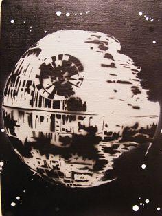 Google Image Result for http://fc09.deviantart.net/fs70/i/2012/137/3/7/star_wars_death_star___spray_paint_stencil_art_by_thestreetcanvas-d504owy.jpg