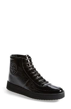 Gucci 'Soho' High Top Sneaker (Women) available at #Nordstrom