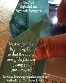 Karen's Quilts, Crows and Cardinals: Tutorial - Mitered and Flanged Machine Binding Free Motion Quilting, Quilting Tips, Quilting Tutorials, Machine Quilting, Quilting Projects, Quilting Designs, Sewing Projects, Jelly Roll Quilt Patterns, Star Quilt Patterns