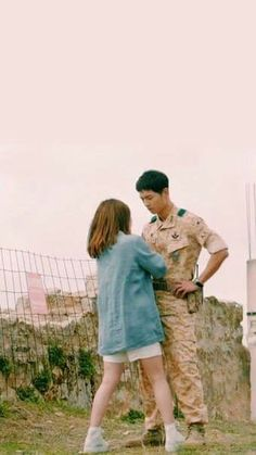 Descendants Of The Sun Descendants Of The Sun Wallpaper, Decendants Of The Sun, Les Descendants, G Song, Song Joon Ki, Kim Book, Korean Drama Series, Songsong Couple, W Two Worlds