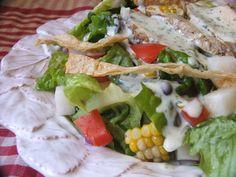 Creamy Yogurt, Lime & Cilantro Salad Dressing