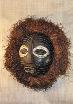 African Masks | African Masks - Baluba Mask 52 - Baluba Tribe - from GenuineAfrica.com