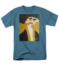 Patrick Francis Slate Designer T-Shirt featuring the painting The Graduate 2014 by Patrick Francis