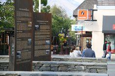 Village Green historic panels